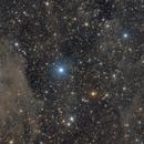 NGC 7023 Iris nebula & vdB141 Ghost nebula,                                Ivan Bosnar