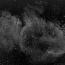 IC1848 Soul Nebula in HA,                                Marios Tsalkidis