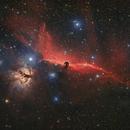 IC434 - LRGBHSO,                                Orionis