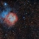 Trifida Nebula,                                Mikel Castander