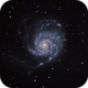 Messier 101 Pinwheel Galaxy in Ursa Major,                                Harri Heikkinen