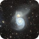 HD 117815 and the Whirlpool Galaxy Messier 51,                                Giuseppe Donatiello