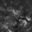 Starless Sadr region - widefield - Ha,                                VuurEnVlam