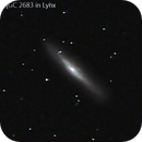 NGC 2683 in Lynx (RASC 39),                                Howard