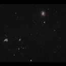 Siamese Twins (NGC4567&NGC4568) and M58,                                Göran Nilsson