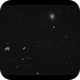 Siamese Twins (NGC4567&NGC4568) and M58,                                Göran Nilsson