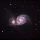 M51 HaLRGB  CROP,                                Benoit Houdard