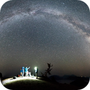 Milky Way Panorama over Crater Lake,                                Mark Striebeck
