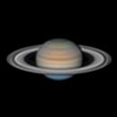 """Saturn 2021-06-28 18,2"""" arcsec,                                Lucca Schwingel Viola"""