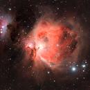 M42 with the Running Man - OSC camera,                                JohnAdastra