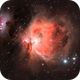M42 with the Running Man - OSC camera,                                JohnAdastra