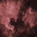 NGC7000 / IC5070 ha,                                SkyZilla