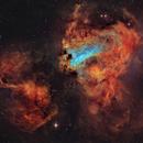 Omega Nebula,                                DaveMoulton