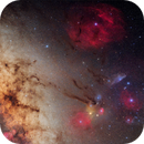 MilkyWay Galactic center & Rho Ophiuchi Complex,                                Mehmet Ergün