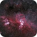 NGC 3576 Statue of Liberty nebula,                                jackstar