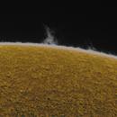 Protubérances solaire,                                Nicolas JAUME