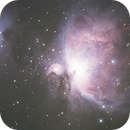 Messier 42: Great-Orion-Nebula (Guiding-Test),                                AndreP