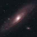 Andromeda Galaxy,                                Kyle Pickett
