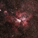 Eta Carina Nebula and surrounds,                                Geoff Scott