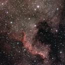 NGC7000 pillars,                                Stefano Zamblera