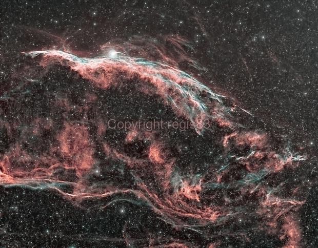 Ngc6960-Little Veil Nebula,                                regis83