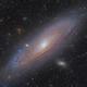 M31  Andromeda Galaxy,                                noodle