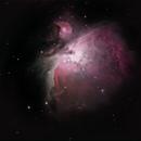 M42 nébuleuse d'orion,                                cguvn