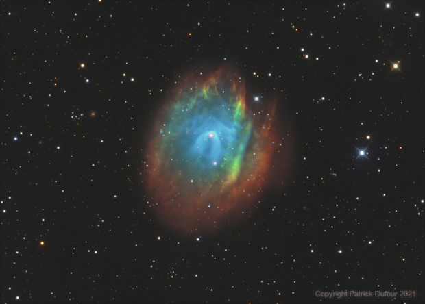The Flaming crown Abell 35 (Sh2-313),                                Patrick Dufour
