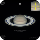 Saturn and an interesting bright spot,                                Lucas Magalhães