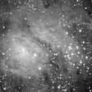 M8 Lagoon Nebula, unguided.,                                Juan Pablo (Obser...