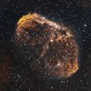 Crescent Nebula - NGC 6888,                                Chad Adrian