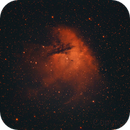 NGC 281 almost entirely in Ha,                                Niels V. Christensen