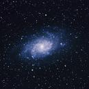 Galaxia del Triángulo (M33).,                                Pablo