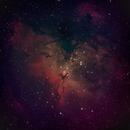 M16 Eagle Nebula,                                Brett Creider