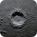 Moon - Copernicus Crater,                                Steve Ludwig