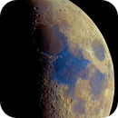 Moon hig res mosaic, saturated colors,                                Wouter D'hoye