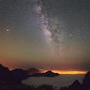 Voie Lactée au-dessus de La Palma,                                Christophe Perroud