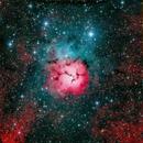 M 20 Trifid Nebula,                                Carl Weber