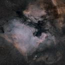 North America and Pelican Nebulae,                                jeff2011