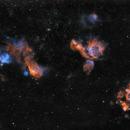 NGC 2014 / NGC 1955 / NGC 1935 & Co. HSHO,                                Claudio Ulloa Saavedra