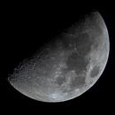 Earth's Moon - First Quarter,                                Brian Shoff