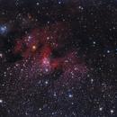 """Cave Nebula""  Sh2-155,                                Roberto Mosca"