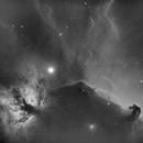 IC 434, Nébuleuse de la tête de cheval,                                manudu74