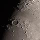 Crater Plato and Vallis Aples - C80ED - 2015-03-28,                                evan9162