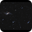 NGC 660 and IC 148 - first galaxies of the season,                                Göran Nilsson