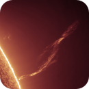 Huge pillar prominence,                                Łukasz Sujka