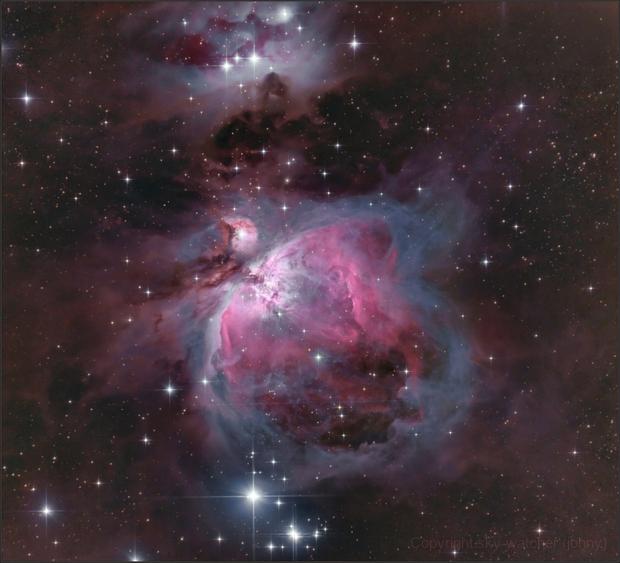 The Orion Nebula,                                sky-watcher (johny)