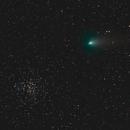 Comet 21P Giacobini-Zinner & M37,                                Aaron Collier