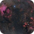 Cygnus Rift, NGC 7000 & IC 1318,                                Maurice Toet