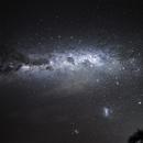 Milky Way and Magellanic Clouds,                                KiwiAstro